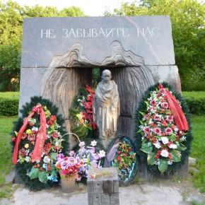 В Красном селе памятник детям-бывшим узникам фашистских лагерей