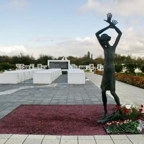 КРАСНЫЙ БЕРЕГ - мемориальный комплекс на месте детского концлагеря